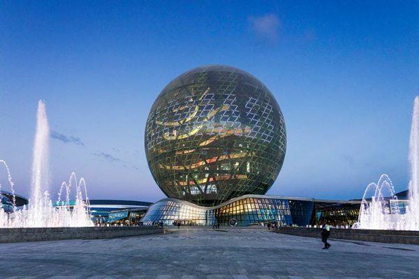 2016/2017 Expo Astana, Museum for future energy, Sphere
