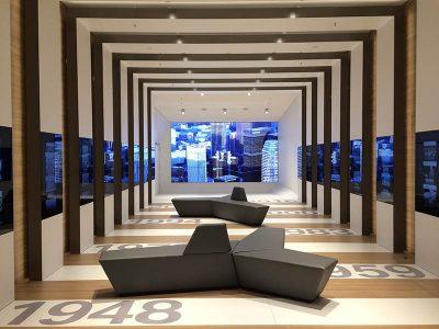 2015 BMW Museum, Raum Chronologie