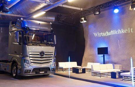 2011 Händlerpräsentation Mercedes Actros, Eventplanung, Projektteam