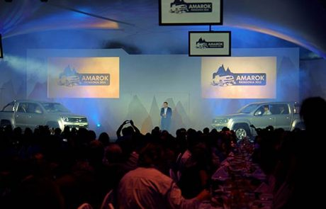 2010 Händlerpräsentation VW Amarok, Projektteam, Event