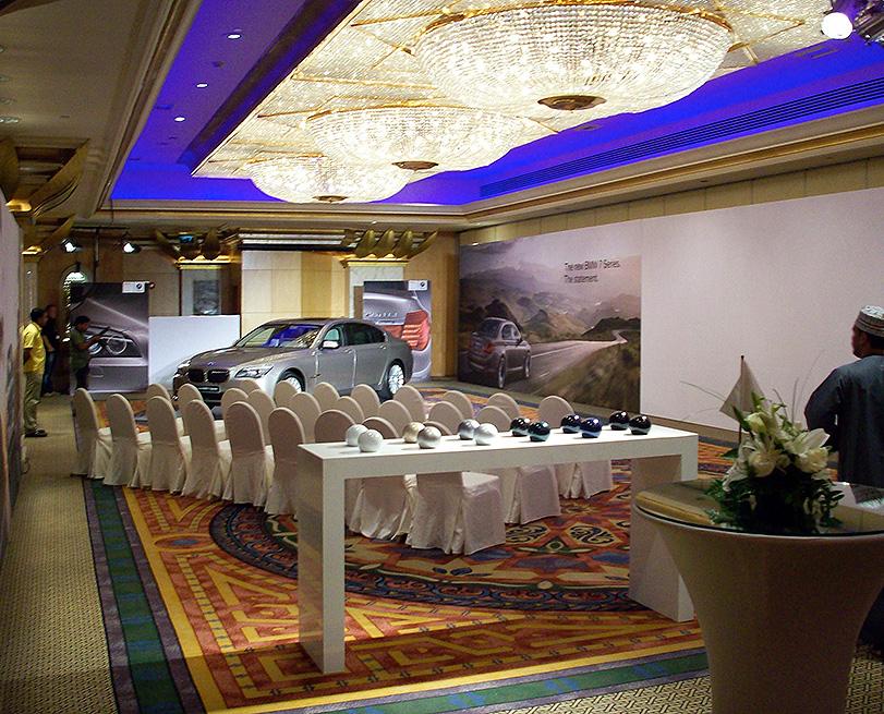 2008 BMW, Event, Oman